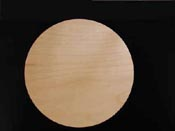 Natural Maple Round